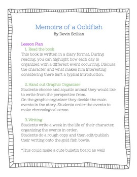 Memoirs of a Goldfish Student Writing
