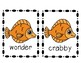 Memoirs of a Goldfish Vocabulary and Spelling