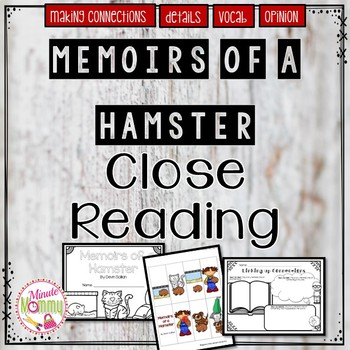 Memoirs of a Hamster Close Read