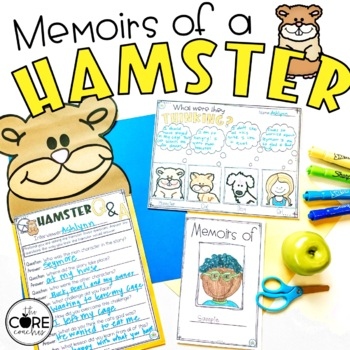 Memoirs of a Hamster Read Aloud | Distance Learning | for Google Slides | Seesaw