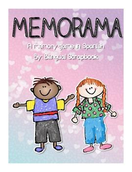 Memorama {A Memory Game in Spanish}
