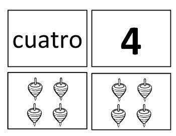 Memorama de números del 0 al 20