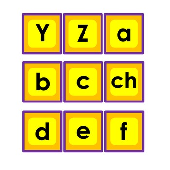 Alfabeto -juego de memoria