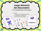Memoria del Alfabeto / Abecedario, español (Spanish)