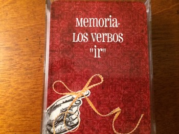 """Memoria los verbos """"ir"""""""