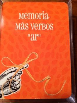 """Memoria más verbos """"ar"""""""