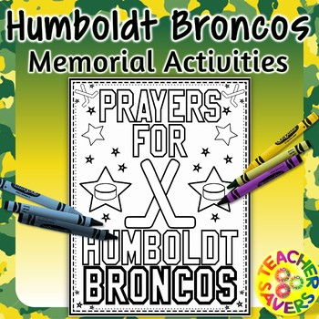 Memorial Activities for the Canadian Humboldt Broncos tragedy.