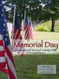 Memorial Day - Activities To Honor Veterans