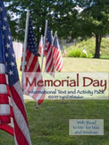 Memorial Day - Activities To Honor Veterans