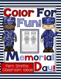 Memorial Day Coloring Pages FREEBIE