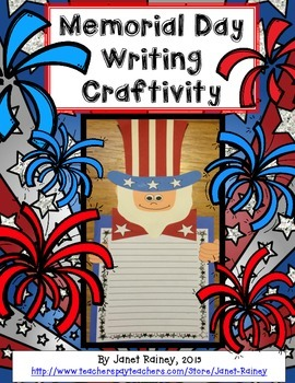 Memorial Day Writing Craftivity