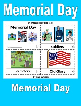 Memorial Day 2 Early Reader Booklets - ENGLISH