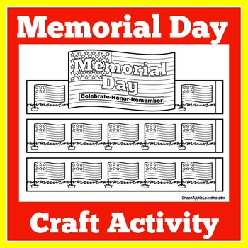 Memorial Day Craft | Memorial Day Craftivity | Memorial Day Activity