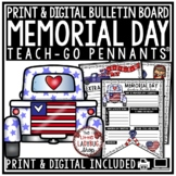 Memorial Day Writing Activity Poster • Teach- Go Pennants™