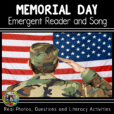 Memorial Day Interactive Vocabulary Book and Song