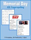 Memorial Day (ASL Fingerspelling)