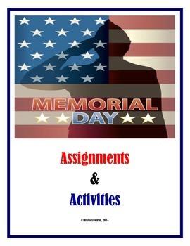 Memorial Day Activities (Middle School)