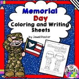 Memorial Day Activities (Memorial Day Writing and Coloring Pages)