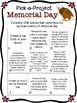 Memorial Day Activities- Writing Choice Menu
