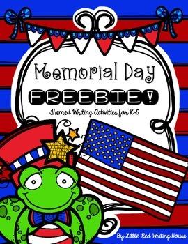Memorial Day Activities {FREEBIE!}