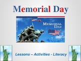 Memorial Day Activities, Lessons, and Literacy - United States of America
