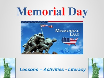 Memorial Day Activities, Lessons, and Literacy - United St