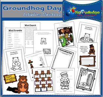 Groundhog Day Activities Mini-Book