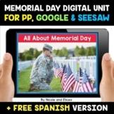 Memorial Day Digital Activities for Google and Seesaw - Di