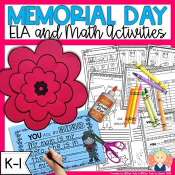Memorial Day Activities for K-1 for At Home Learning