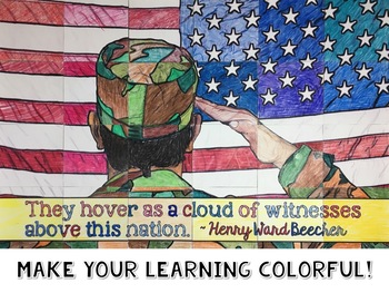 Veterans Day Activity Collaboration Poster