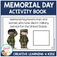 Memorial Day Activity Cut & Paste Book