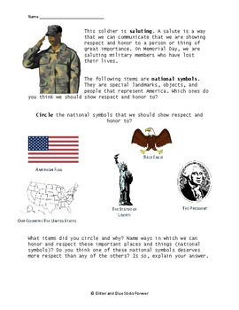 Memorial Day Activity Pack