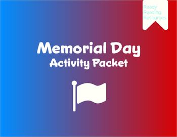Memorial Day Activity Packet