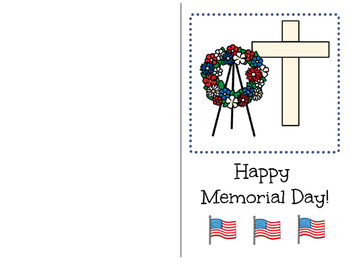 Memorial Day-Adapted Book for Students with Disabilities