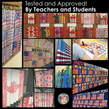 Patriotic Agamographs: Great for Veterans Day and/or Remembrance Day Canada