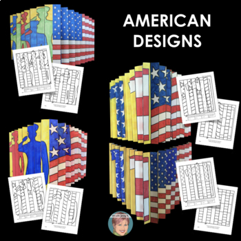 Patriotic Agamograph Set: Great for Veterans' Day or Remembrance Day (Canada)