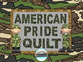 Memorial Day American Pride Quilt