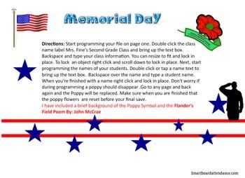 Memorial Day Attendance
