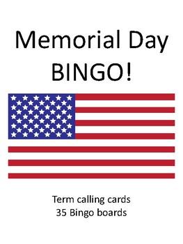 Memorial Day BINGO!