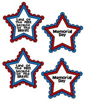 Memorial Day Badges