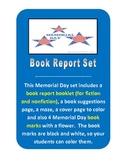 Memorial Day Book Report Set