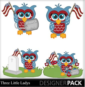Memorial Day Boy Owls