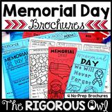 Memorial Day Brochure Tri-folds