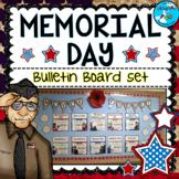 Memorial Day May Bulletin Board Set - U.S. Wars - MAY B.B.