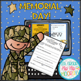 Memorial Day Bundle...Interactive Google Slides and Paper