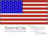 Memorial Day Bundle (Memorial Day Book, Prompts, & Venn Diagram)