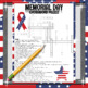 End of the Year: Memorial Day CROSSWORD PUZZLE