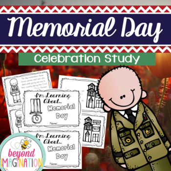 Memorial Day Celebration Study Fact Booklet for Little Learners