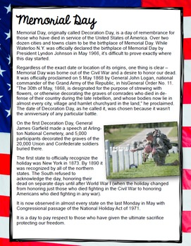 Memorial Day Close Read Using Song Lyrics: If You're Reading This by Tim McGraw