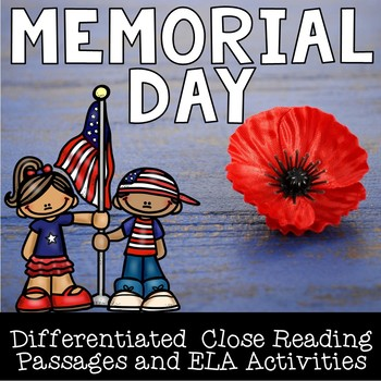Memorial Day Close Reading Pack